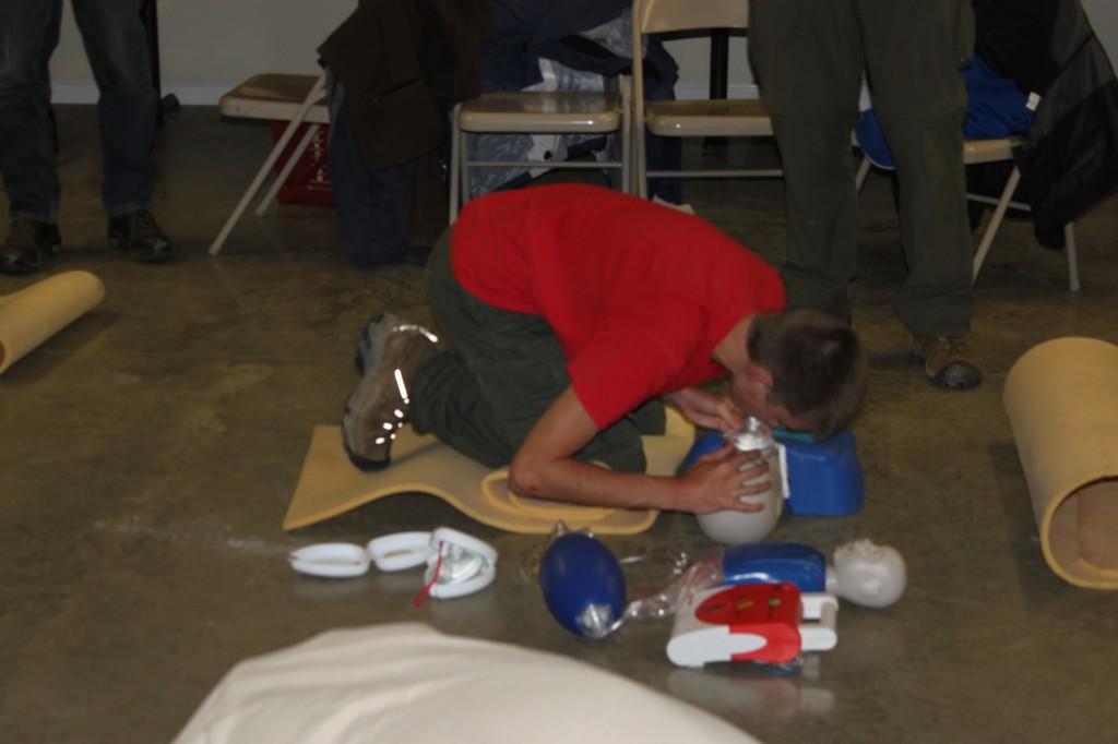 Pocket Mask Rescue Breathing