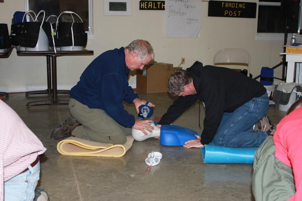 CPR manikin floor pads