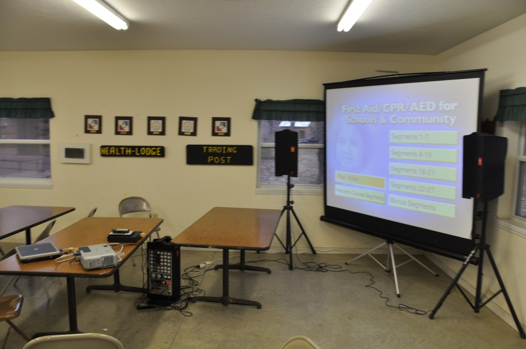 Crew 272 Big Screen training
