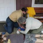 CPR teamwork