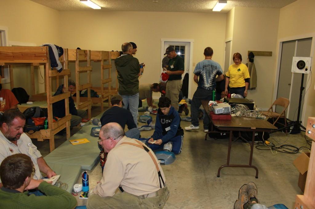 Dorm Room at Camp Rotary
