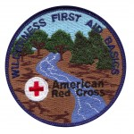 Red Cross Wilderness First Aid Patch