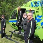 StatFlight Medevac helicopter crew