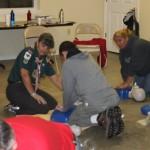 Venture Crew members save patient