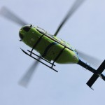 over head helicopter