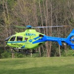 Camp Rotary Crawfordsville IN Helicopter landing