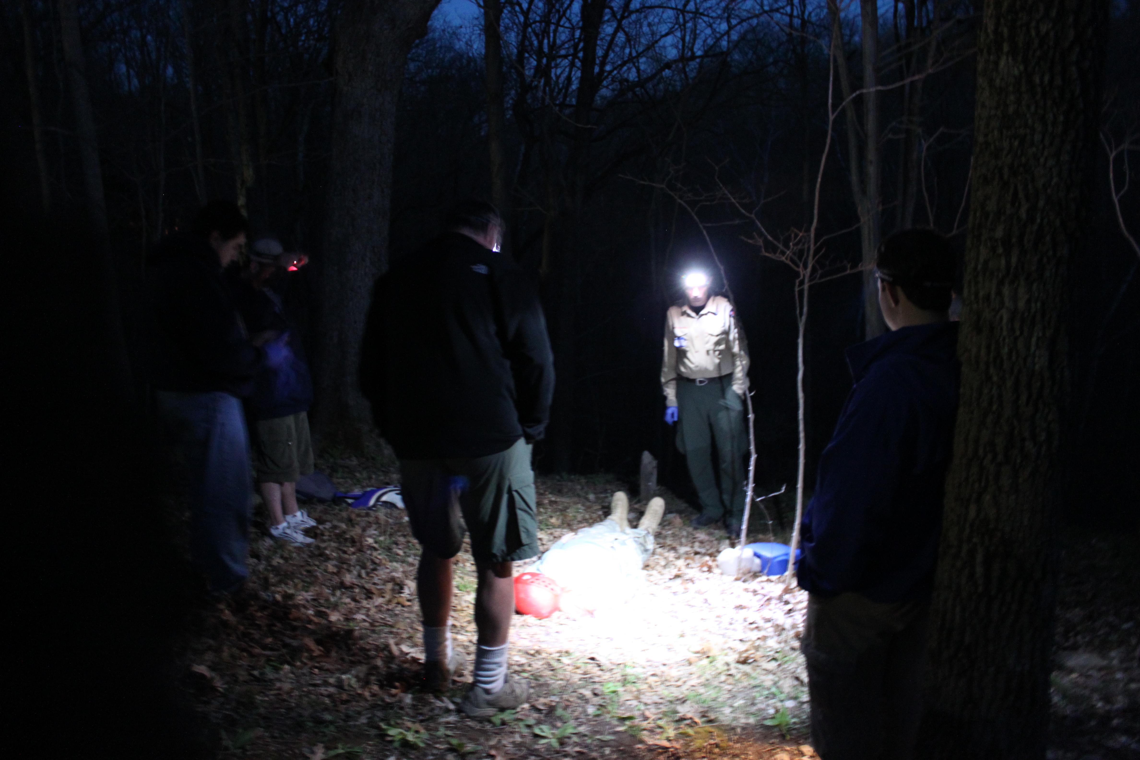 Testing Night Skills